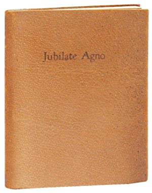 A Portion of Jubilate Agno, a Poem by Christopher Smart, 1722-1771 [Shahn's Copy]