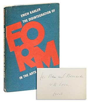 The Disintegration of Form in the Arts [Inscribed & Signed to Ben & Bernarda Shahn]