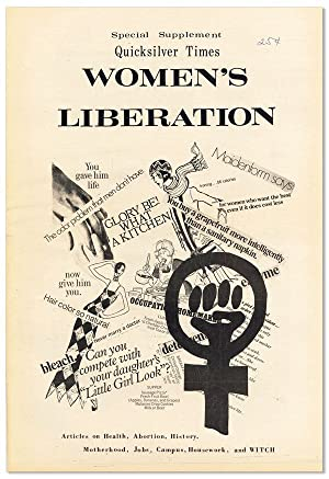 Special Supplement, Quicksilver Times: Women's Liberation