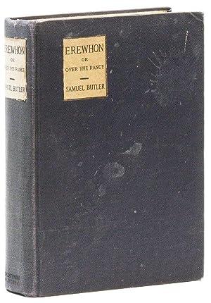 Erewhon; or, Over the Range: BUTLER, Samuel