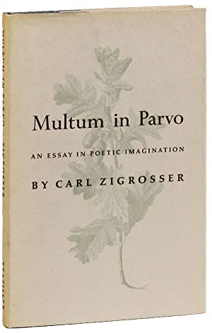 Multum in Parvo: An Essay in Poetic Imagination (Ben Shahn's copy)