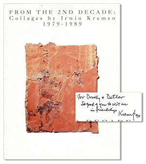 From the 2nd Decade: Collages by Irwin Kremen, 1979-1989 [Inscribed & Signed]