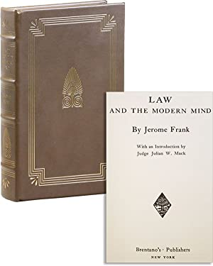 Law and the Modern Mind (Legal Classics: FRANK, Jerome (Julian