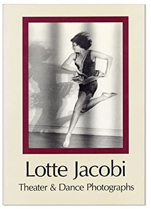 Lotte Jacobi: Theater & Dance Photographs [Inscribed & Signed to Nobel Laureate George Wald with ...