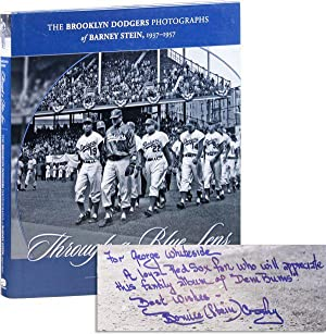 Through a Blue Lens: The Brooklyn Dodgers Photographs of Barney Stein, 1937-1957 (Inscribed Copy)