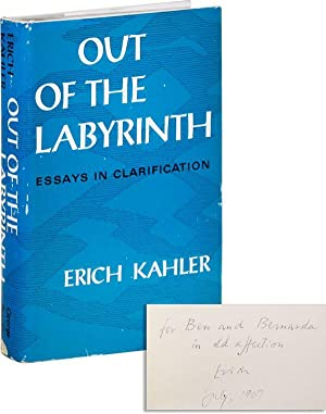 Out of the Labyrinth: Essays in Clarification [Inscribed & Signed to Ben & Bernarda Shahn]