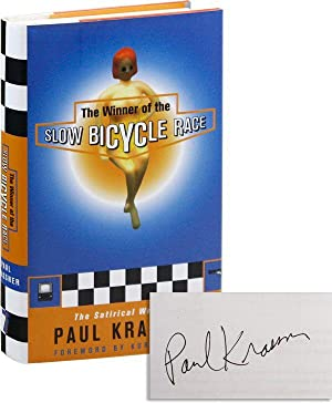 The Winner of the Slow Bicycle Race: KRASSNER, Paul (text);