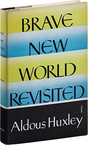 the superficial reality of brave new world by aldous huxley essay Brave new world and 1984 essay although many similarities exist between aldous huxley's a brave new world and george orwell's 1984, the works books though they deal with similar topics, are more dissimilar than alike.