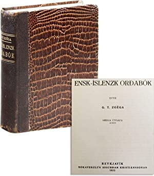 Ensk-Íslenzk Ordabók / English-Icelandic Dictionary: ZOEGA, G.T.