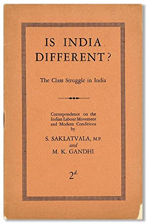 Is India Different? The Class Struggle in: SAKLATVALA, S. and