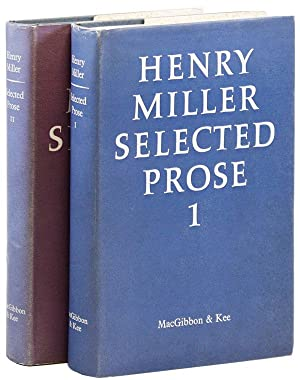 Selected Prose: MILLER, Henry