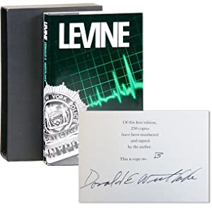Levine [1/26 Lettered Copies, Signed]: WESTLAKE, Donald E.
