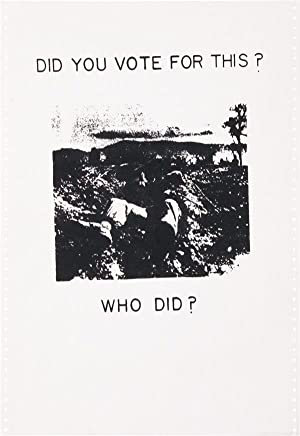 Poster: Did You Vote For This? Who Did