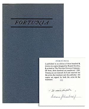 Fortunia: A Tale [Limited Edition, Signed]: D'AULNOY, Mme.; Richard