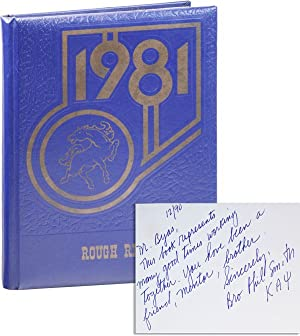 Rough Rider 1981 [Inscribed & Signed by Principal Phil Smith]
