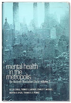 Mental Health in the Metropolis: The Midtown: SROLE, Leo et