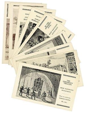 Small Archive from the Irene Kaufmann Settlement: SETTLEMENT MOVEMENT] IRENE