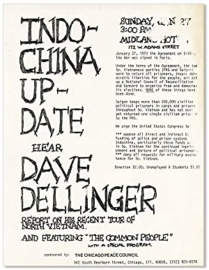 Broadside: Indochina Update: Hear Dave Dellinger Report on His Recent Tour of North Vietnam and F...