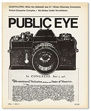 The Public Eye. A Journal of Social and Political Issues. Vol 1 no 2 (April 1978)