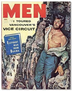 Men Magazine. Vol 3, no 10 (October: PULPS]