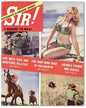 Sir! A Magazine for Males. Vol 8,: PULPS] LOPEZ, Adrian
