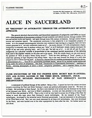 Alice in Saucerland: My