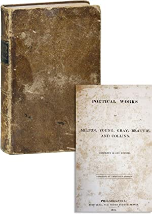 The Poetical Works of Milton, Young, Gray,: MILTON, John et