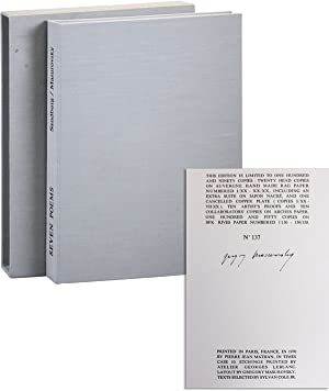 Seven Poems [Limited Edition, Signed]