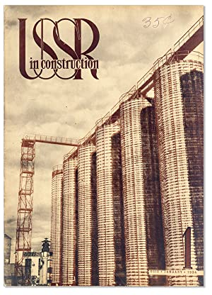 USSR in Construction. 1934, No.1 (January)