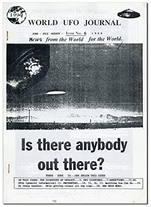 World UFO Journal Issue no. 6, June-July-August, 1994