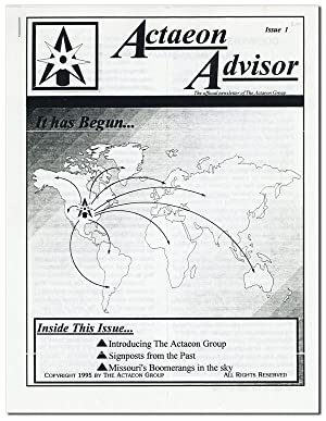 Actaeon Advisor: The Official Newsletter of the Actaeon Group. Issue 1
