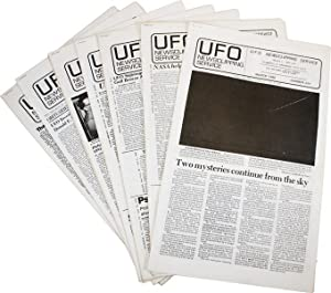 UFO Newsclipping Service [Collection of Nine Issues]