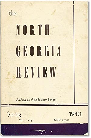 The North Georgia Review. A Magazine of the Southern Regions - Vol. V, no. 1 (Spring 1940)
