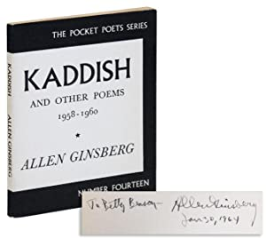 Kaddish and Other Poems, 1958-1960 [Inscribed]