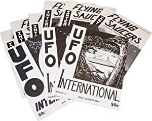 UFO International [Later title: Flying Saucers International] [Collection of 9 Issues]