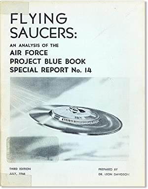 Flying Saucers: An Analysis of the Air Force Project Blue Book Special Report No. 14