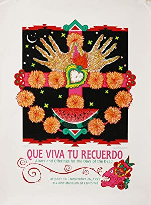 [Poster] Que Viva Tu Recuerdo: Altars and Offerings for the Days of the Dead [Limited Edition, Si...