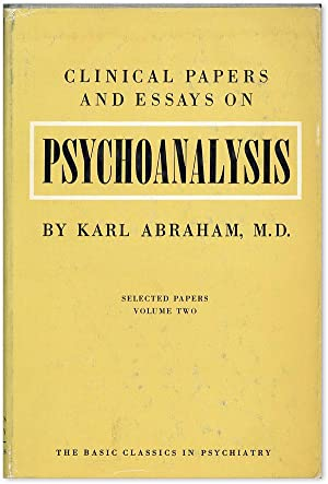 clinical papers and essays on psycho-analysis