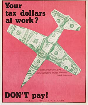 Poster: Your tax dollars at work? DON'T pay!