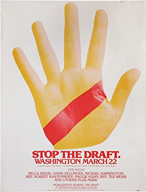 Stop the Draft. Washington March 22