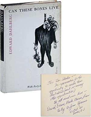 Can These Bones Live [Inscribed and Signed by Kearns to Ben Shahn]