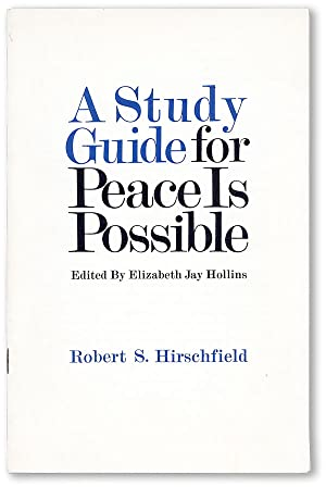A Study Guide for Peace is Possible, edited by Elizabeth Jay Hollins