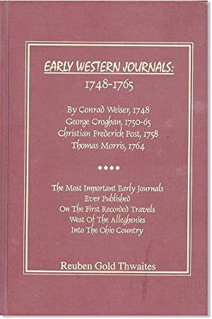 Early Western Journals: 1748-1765
