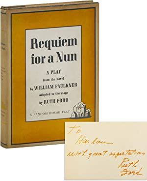 Requiem for a Nun: A Play [Inscribed by Ruth Ford]