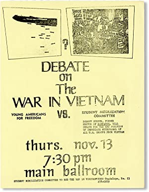 Debate on the War in Vietnam. Young Americans for Freedom vs. Student Mobilization Committee / Ro...