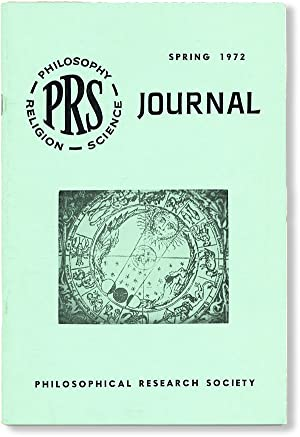 PRS Journal, Vol. 31, no. 4, Spring, 1972