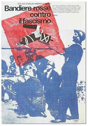 Original lithographed poster: Venti anni di lotta: COMMUNISM - ITALY