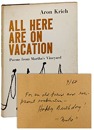 All Here Are On Vacation. Poems from Martha's Vineyard