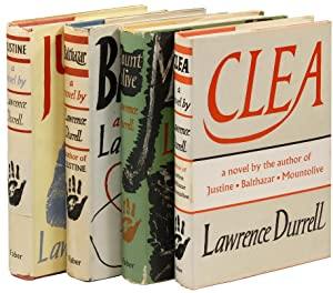 The Alexandria Quartet] Justine (1957), Balthazar (1958), Mountolive (1958), Clea (1960): DURRELL, ...