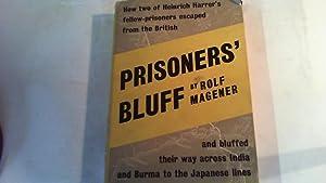 prisoners' bluff.: magener, rolf.